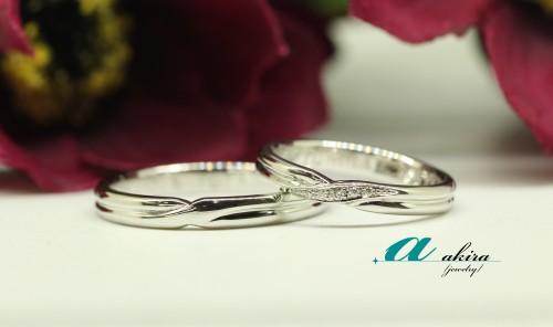 船橋市から御来店くださいましたお客様の結婚指輪の御納品