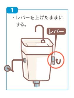 札幌市 凍結 トイレ水落とし 水抜き方法