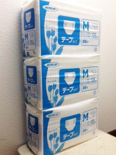 紙おむつだって買取ります。札幌 西区