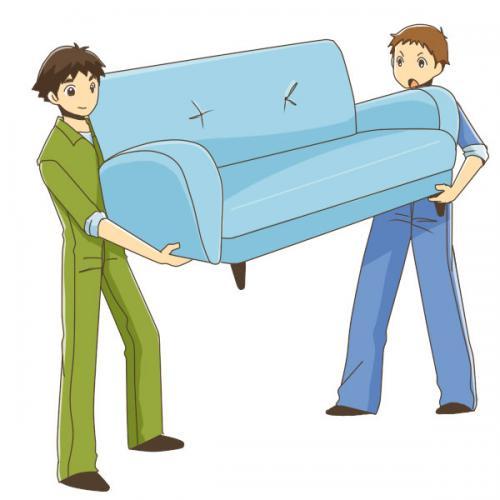 泉区にて家具 2点、室内移動実行!