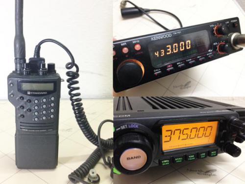 札幌市厚別区のお客様より無線機の出張買取りのご依頼です。