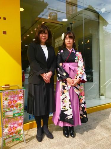 袴の着付けなら千歳烏山駅より徒歩1分の美容室YOUへ!