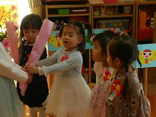 ファミリー託児所☆卒園式