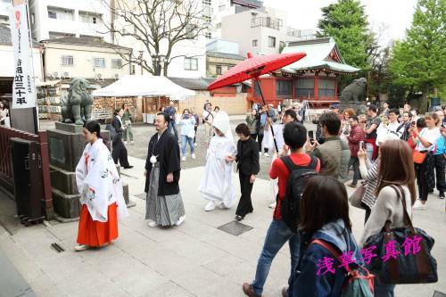 浅草で誓う神前結婚式は如何ですか!