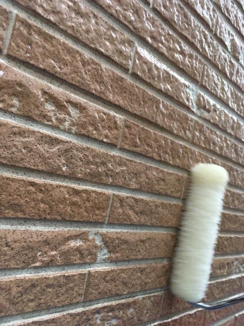 さいたま市 外壁 クリアー塗装