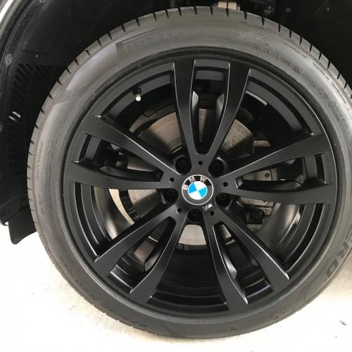 BMWマットブラック ホイール