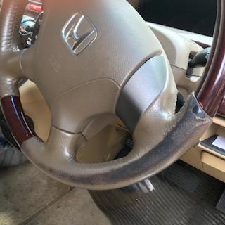 ハンドル  修理