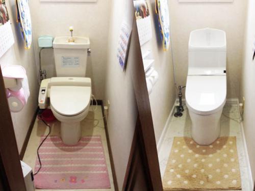 我が家のトイレリフォーム完了