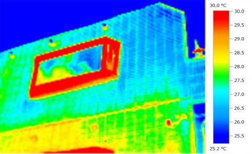サーモグラフィー伝説 外壁を赤外線でみると何が分かる?