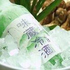 シャーベット状で飲む『みぞれ酒』は夏期限定の人気の日本酒です