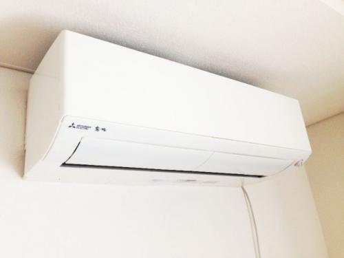 エアコン 自分で設置しました。