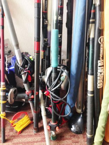 札幌市西区のお客様より釣り道具を売って頂きました。