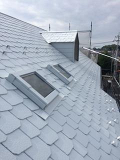 鶴ヶ島市屋根の塗装工事