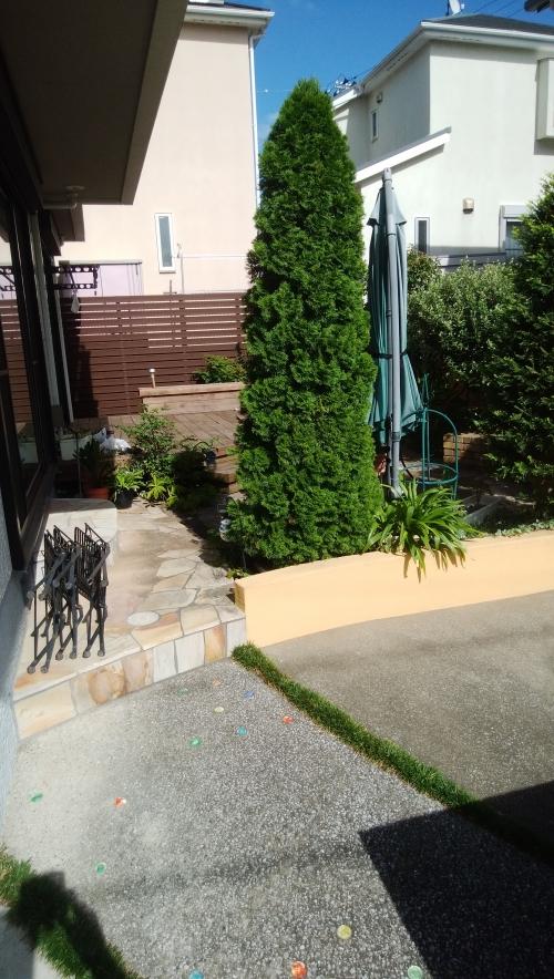 瀬谷区で庭のリニュアル工事