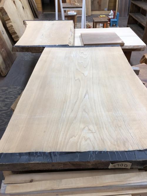 群馬 平屋 自然素材 テーブル