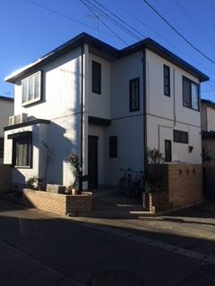川越市にて屋根・外壁塗装工事を施工しました