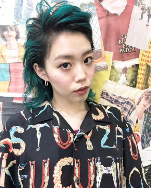 TLONY渋谷#ウルフカットアップバングリーゼント