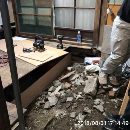 戸建ユニットバス工事