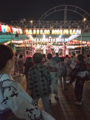 隅田川おどり納涼大会♪