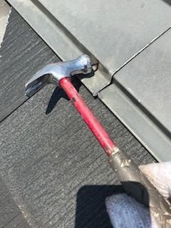 東松山市で塗装前の屋根の点検しました