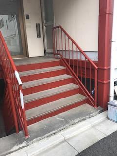 鶴ヶ島市で鉄部の錆止め塗装して来ました