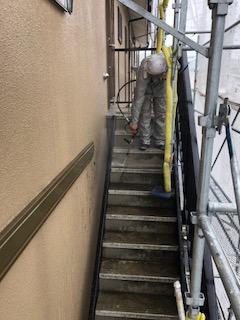 鶴ヶ島市で二世帯住宅の水洗い工事を施工致しました