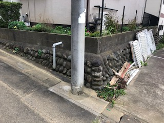 東松山市で外構フェンスの解体工事をしてきました