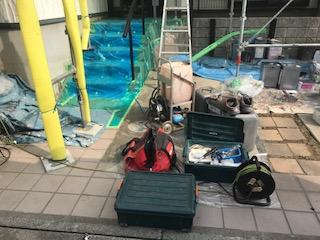 鶴ヶ島市でシロアリ防除工事をしてきました