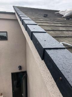 日高市で屋根の修理が完了致しました
