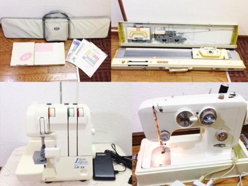 札幌市内のミシン 編み機の買取りはお任せ下さい。