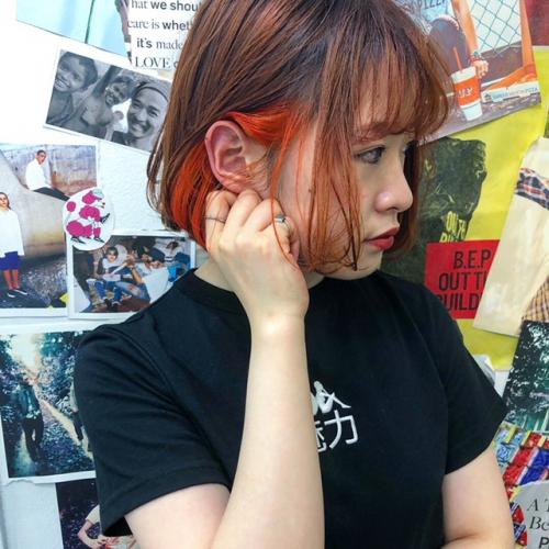 TLONY渋谷horiオーダー殺到インナーカラー遊び