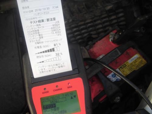 ステップワゴン車検とガソリンメーター点滅修理