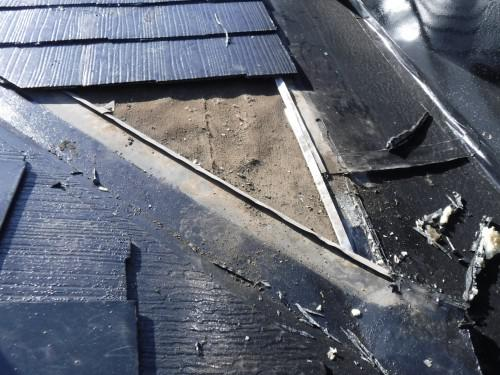 杉並区で屋根からの雨漏り原因の改善を実施しました!