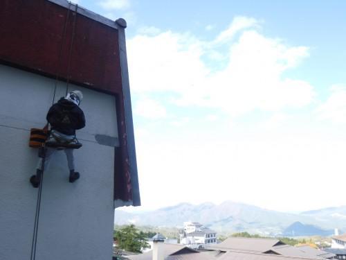伊香保で雨漏り改善作業を実施しました!