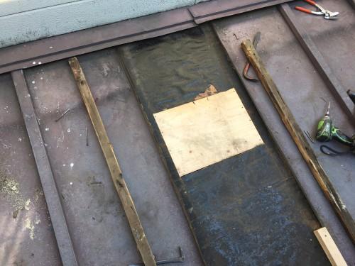 杉並区で屋根の修理を実施しました!