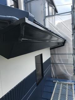 狭山市で屋根・外壁塗装工事完了前の点検してきました