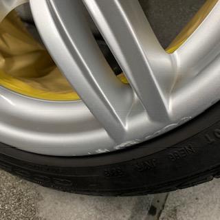 BMW純正ホイール ガリ傷