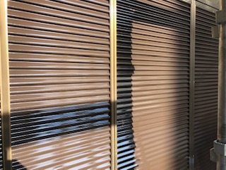 鶴ヶ島市で雨戸の塗装を施工しました