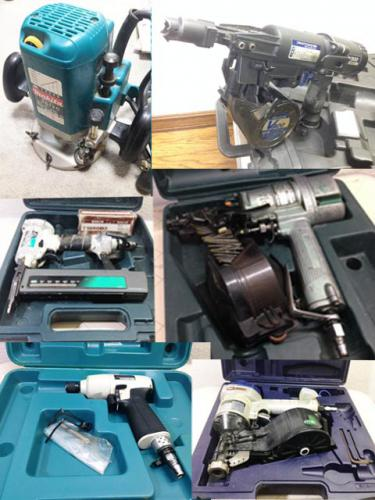 札幌の大工道具の出張買取り 工具買取り大歓迎