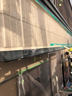 東松山市で外壁サイディング張替え工事致しました
