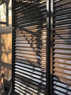 東松山市で雨戸の塗装工事を施工しました