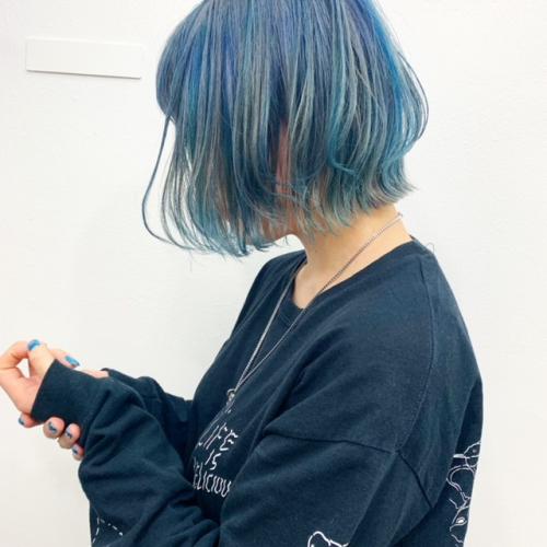 TLONY渋谷でデザインカラーにチャレンジ
