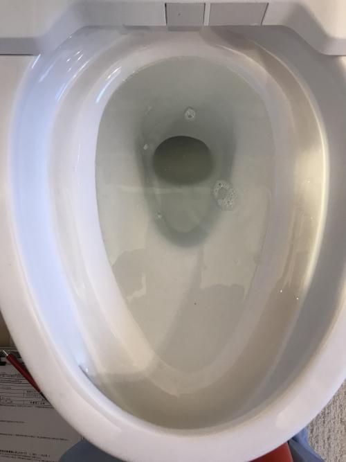 さいたま市緑区にてトイレつまり除去実施。