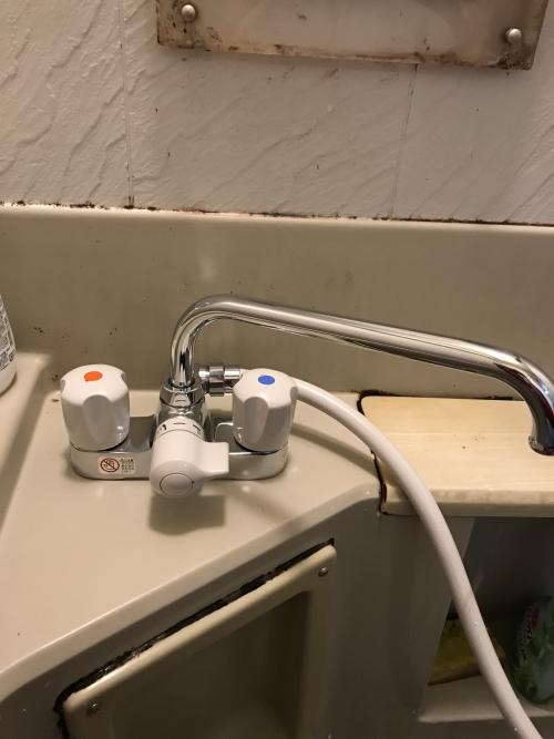 板橋区にて蛇口修理(交換)実施。
