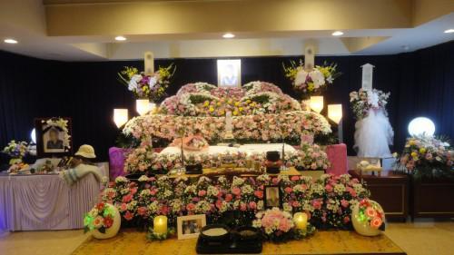 葬祭館おおみや 1日葬かがやきA ありがとうとお疲れ様でした