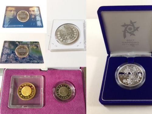 記念硬貨 記念金貨の買取りもお任せ下さい。