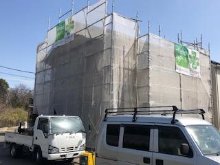 本日鶴ヶ島市で屋根・外壁高圧バイオ洗浄工事をしてきました