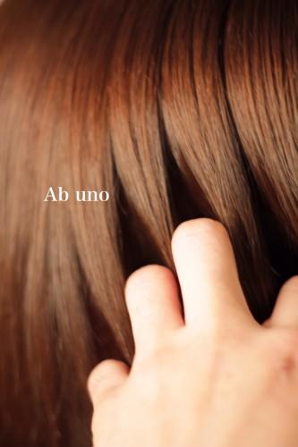 【髪の透明感と艶感】