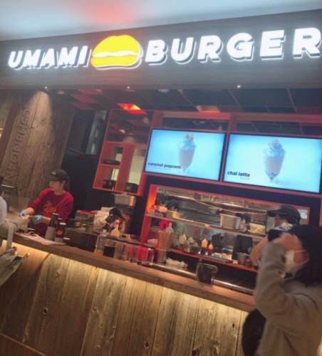 第1弾・UMAMI BURGER♪