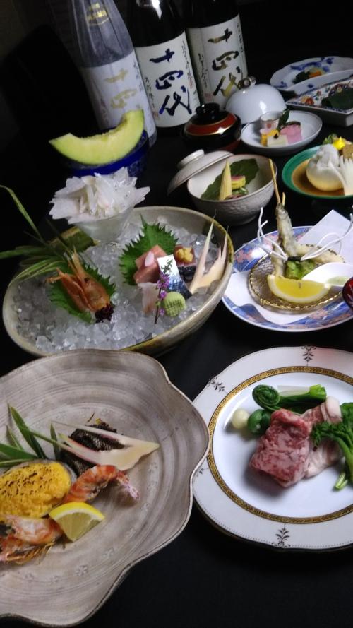 平成最後の記念に日本料理空海でお食事はいかがですか